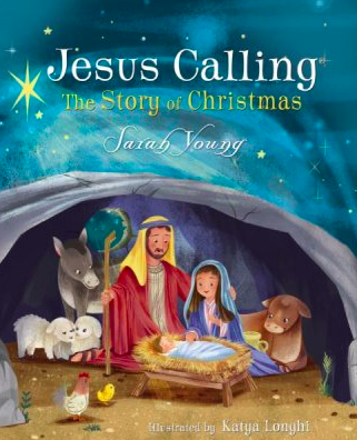 Jesus Calling - The Story of Christmas for Kids by Sarah Young - book cover