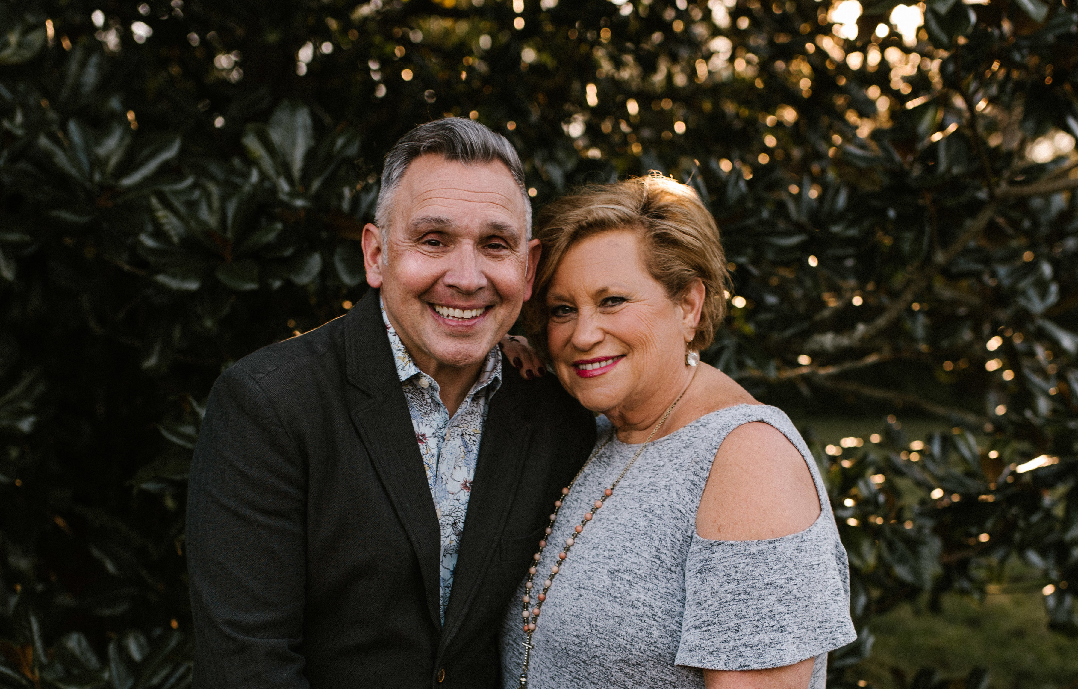 Sandi Patty and her husband