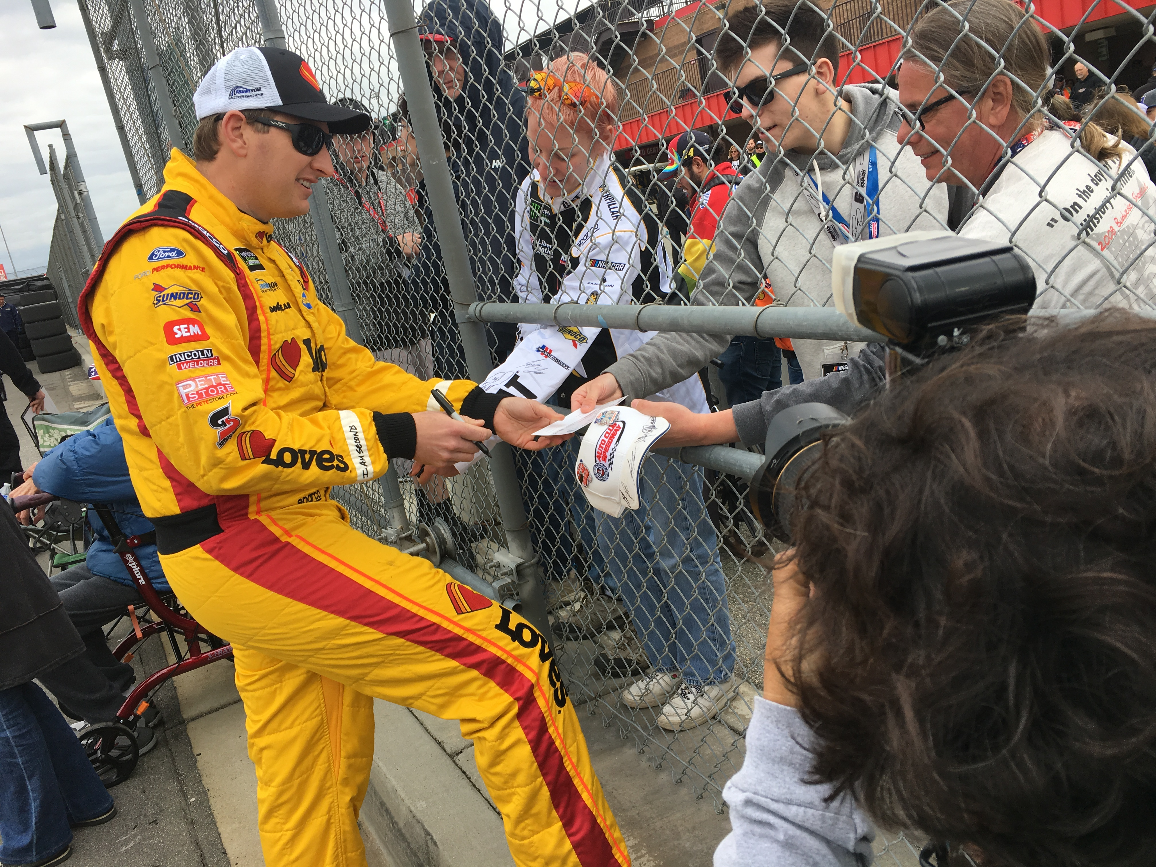 NASCAR's Michael McDowell as featured on the Jesus Calling podcast