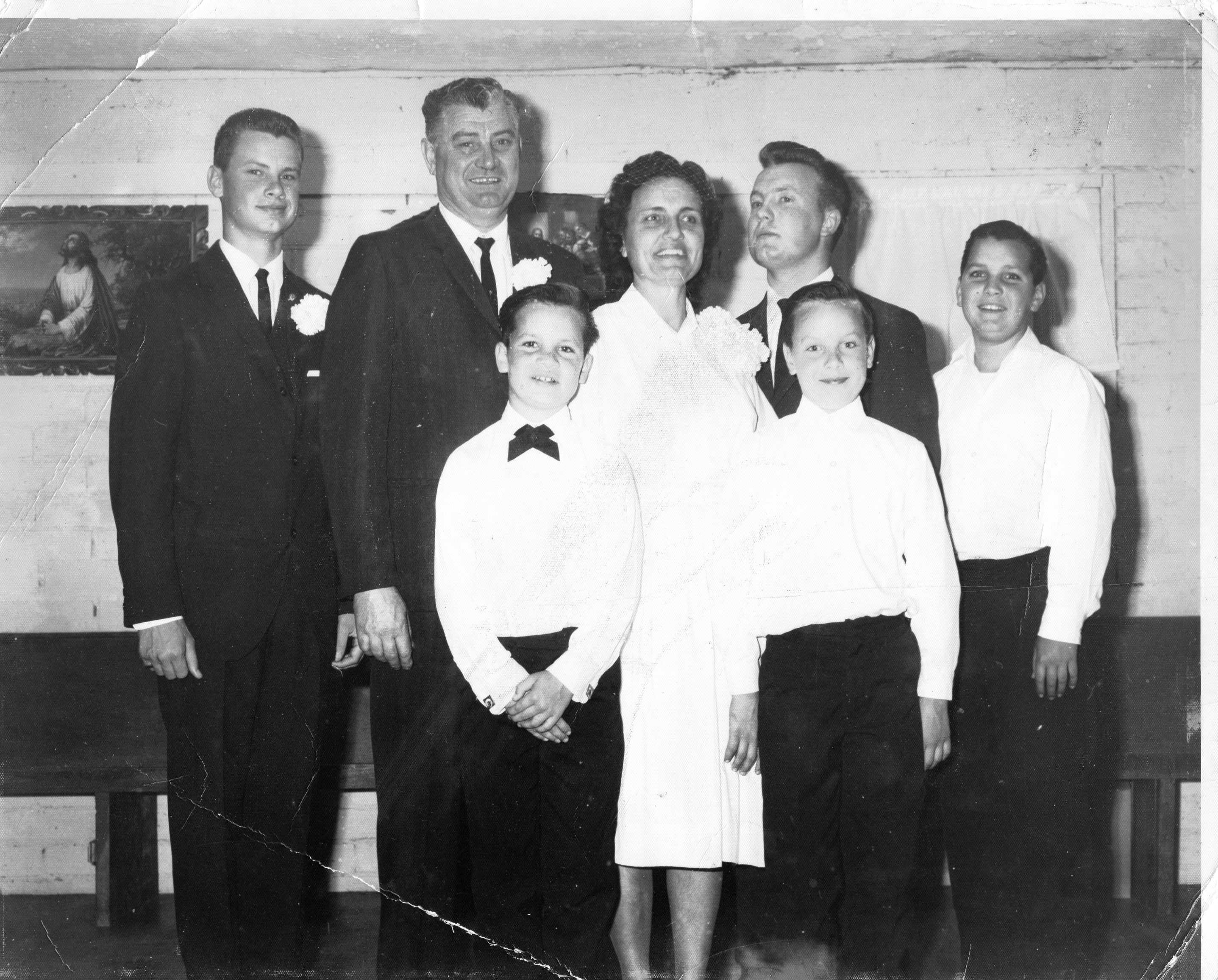 Russ Taff's mother and father & family