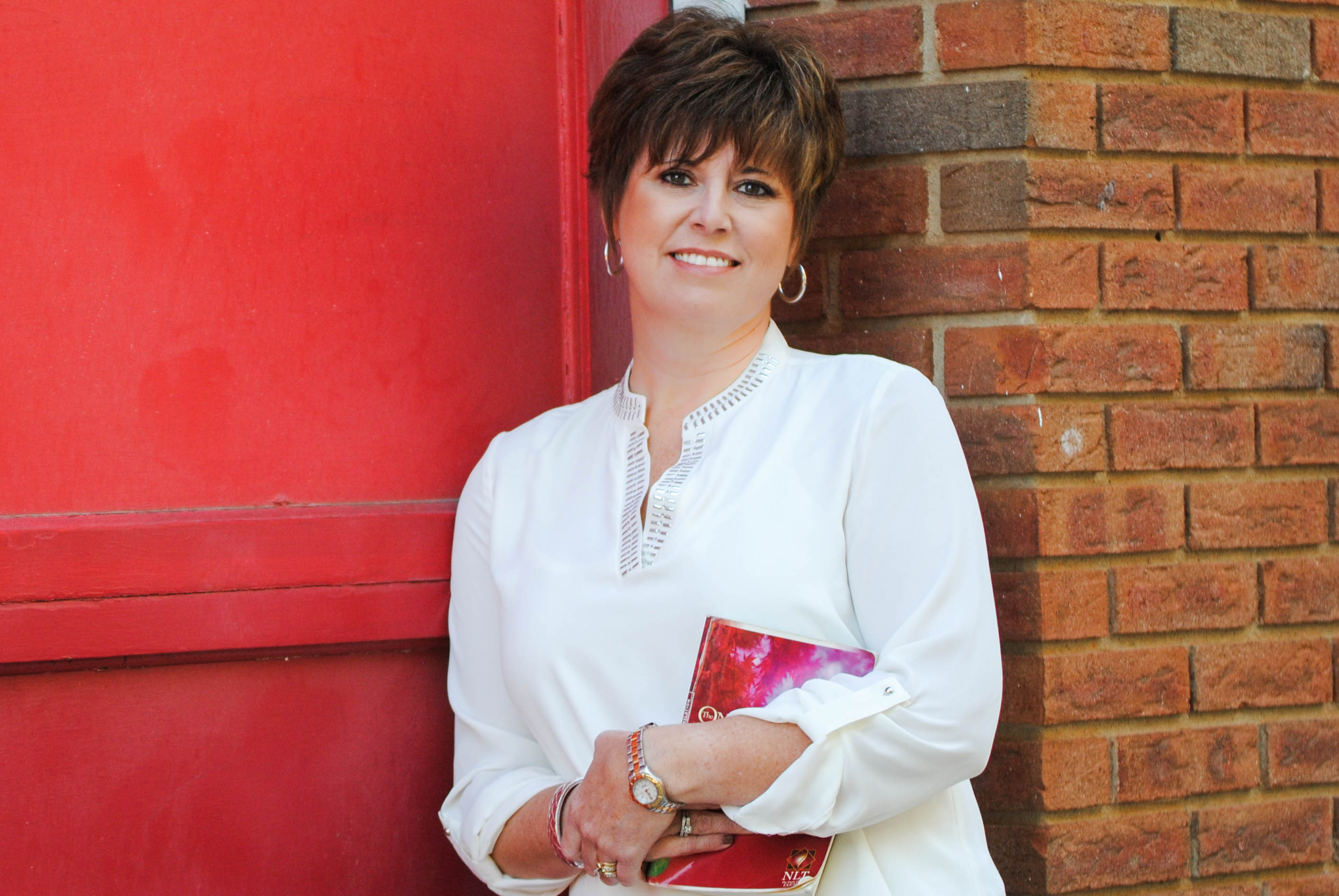 Author, Wendy Pope as featured on Jesus Calling podcast