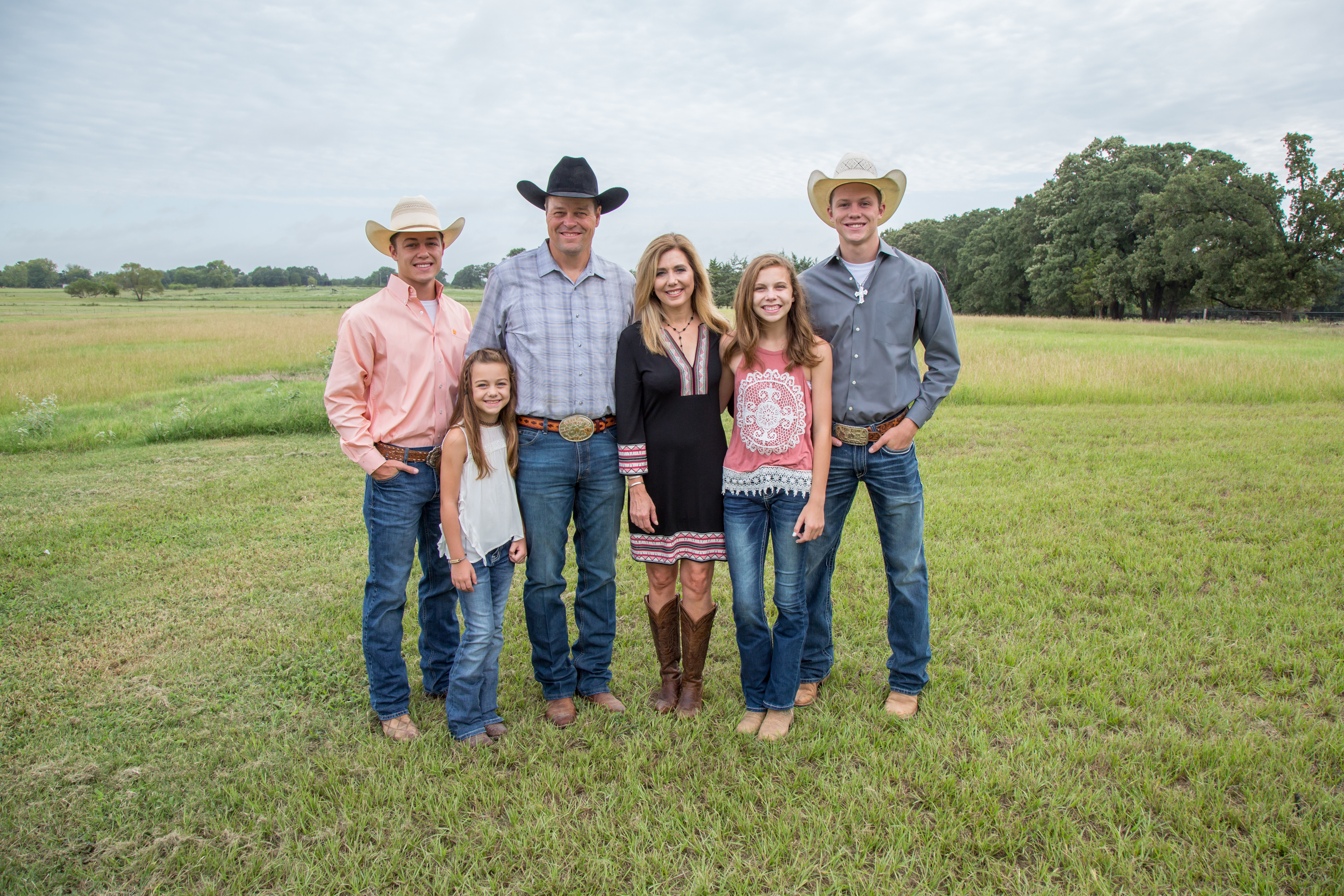 Rope and Candice Myers and their family