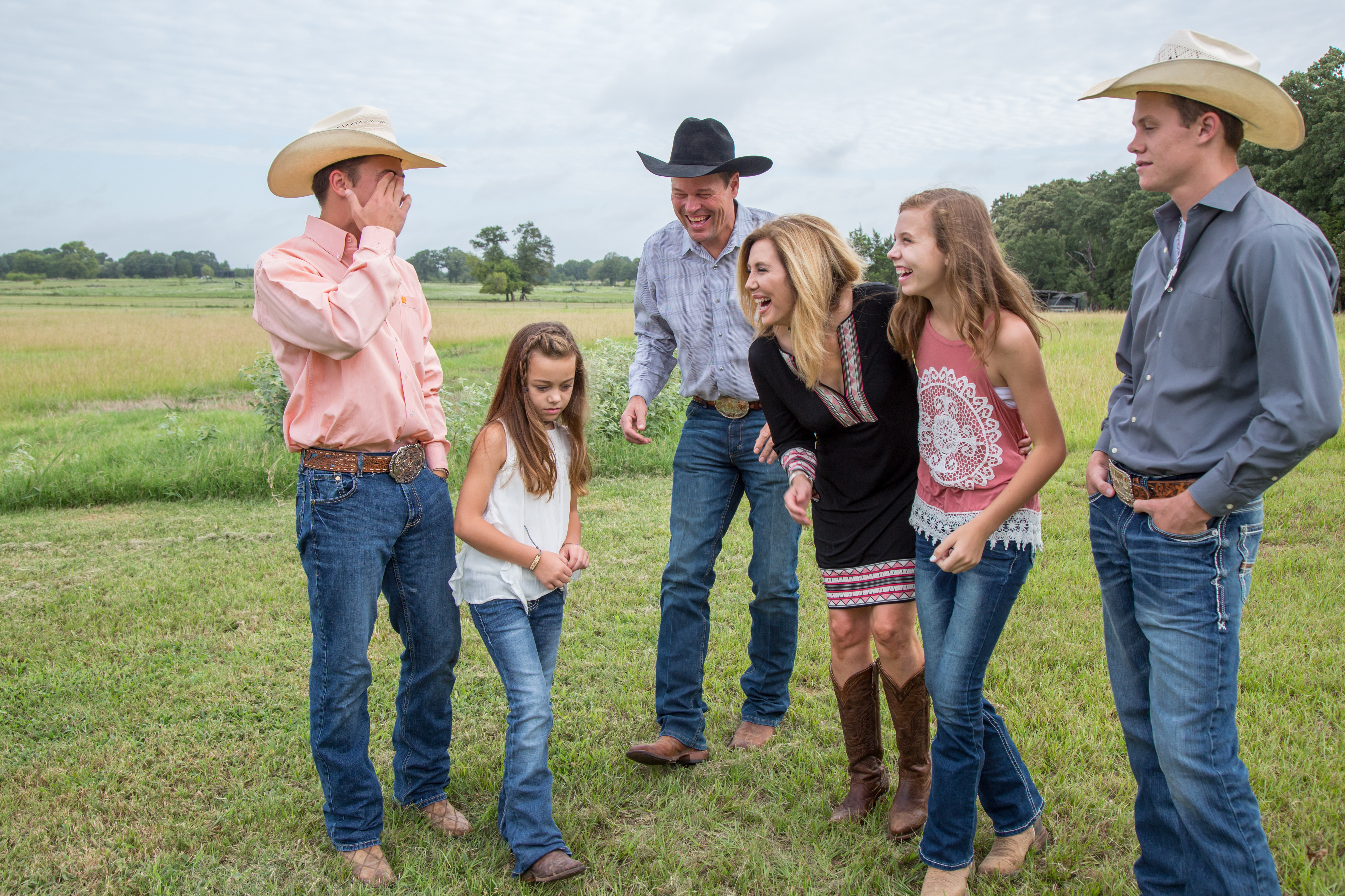 Rope and Candice Myers and family