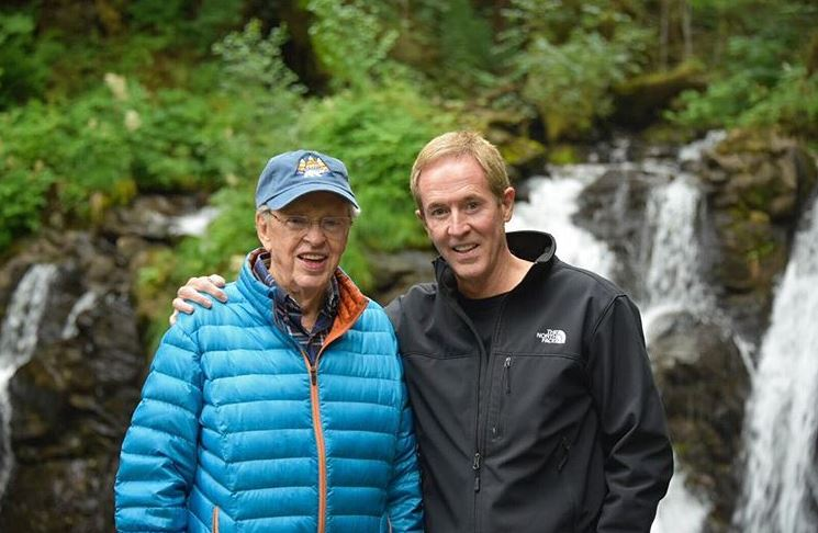 Dr. Charles Stanley and his son, prolific author Andy Stanley