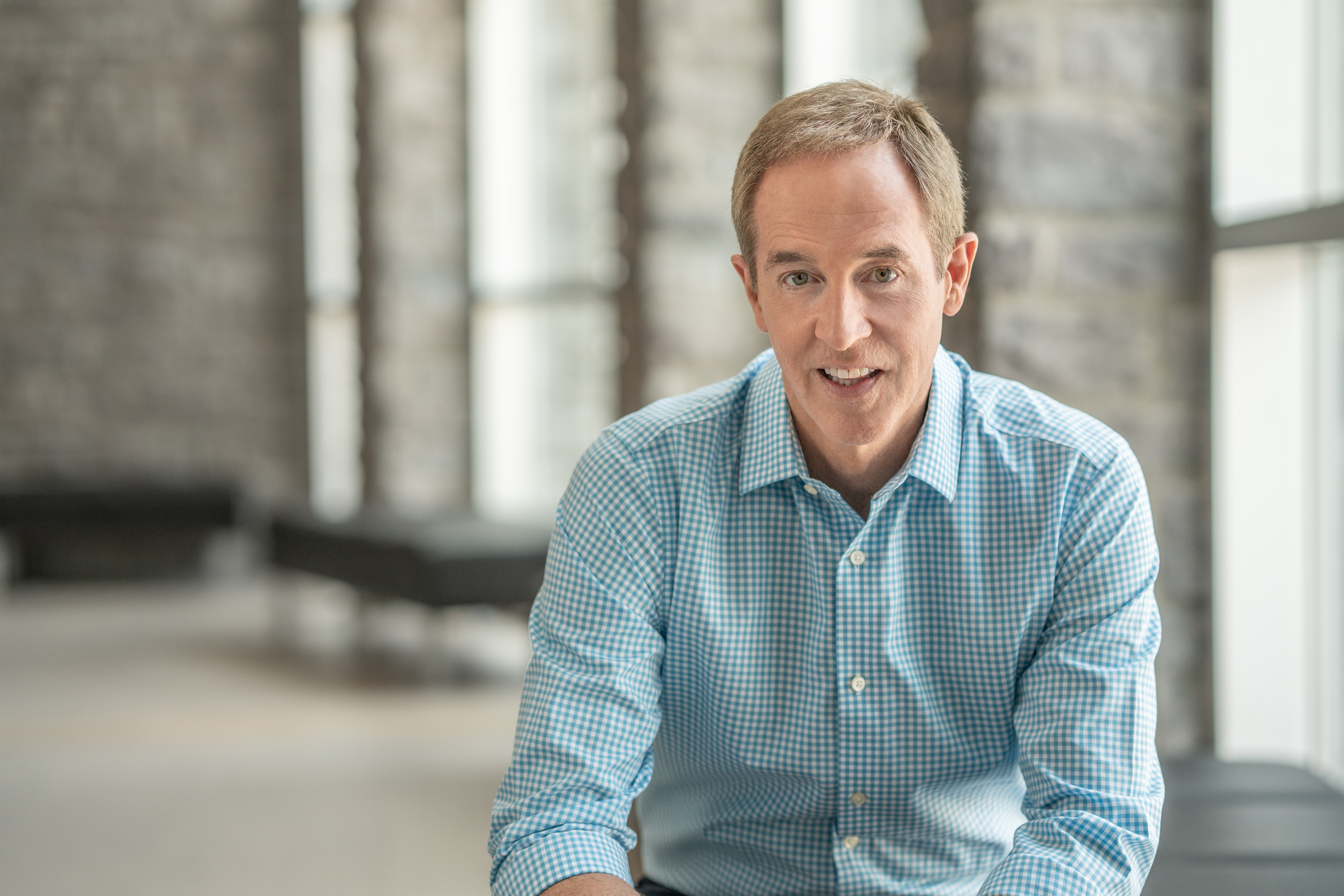 Andy Stanley as featured on the Jesus Calling podcast