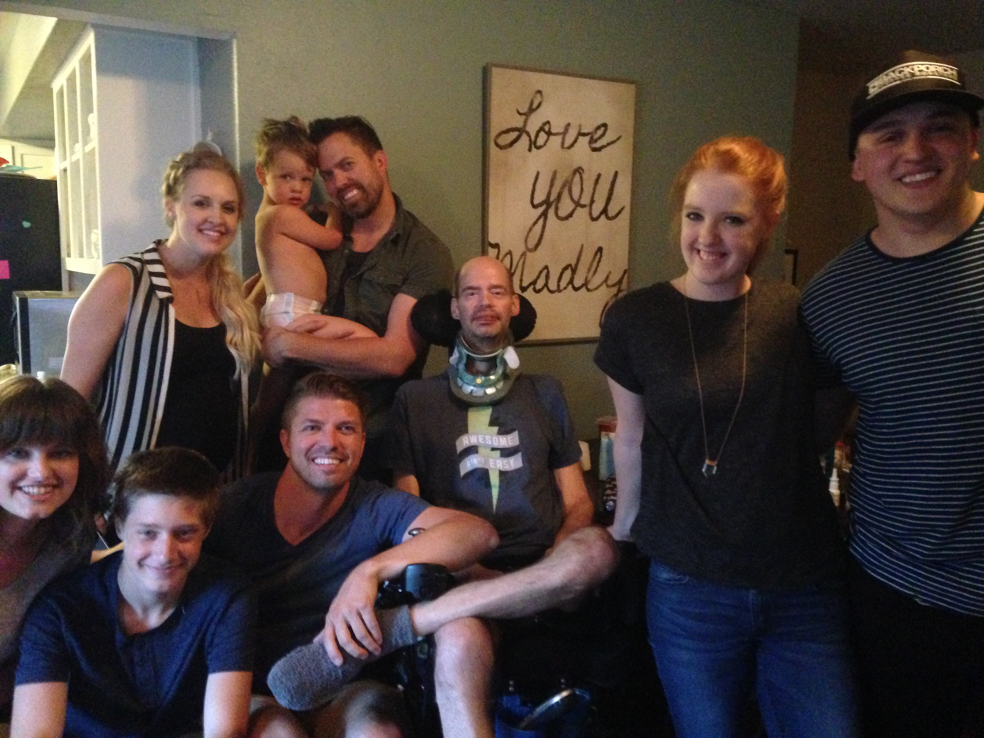 Bo Stern with husband Steve Stern and their family
