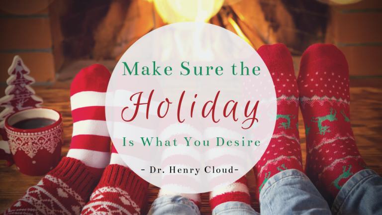 Dr. Cloud Boundaries at Christmas Blog post