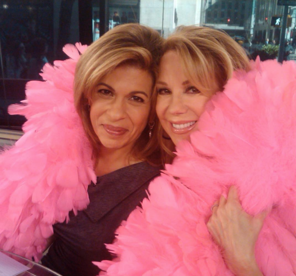 Kathie Lee Gifford and Hoda Kotb on the Today Show