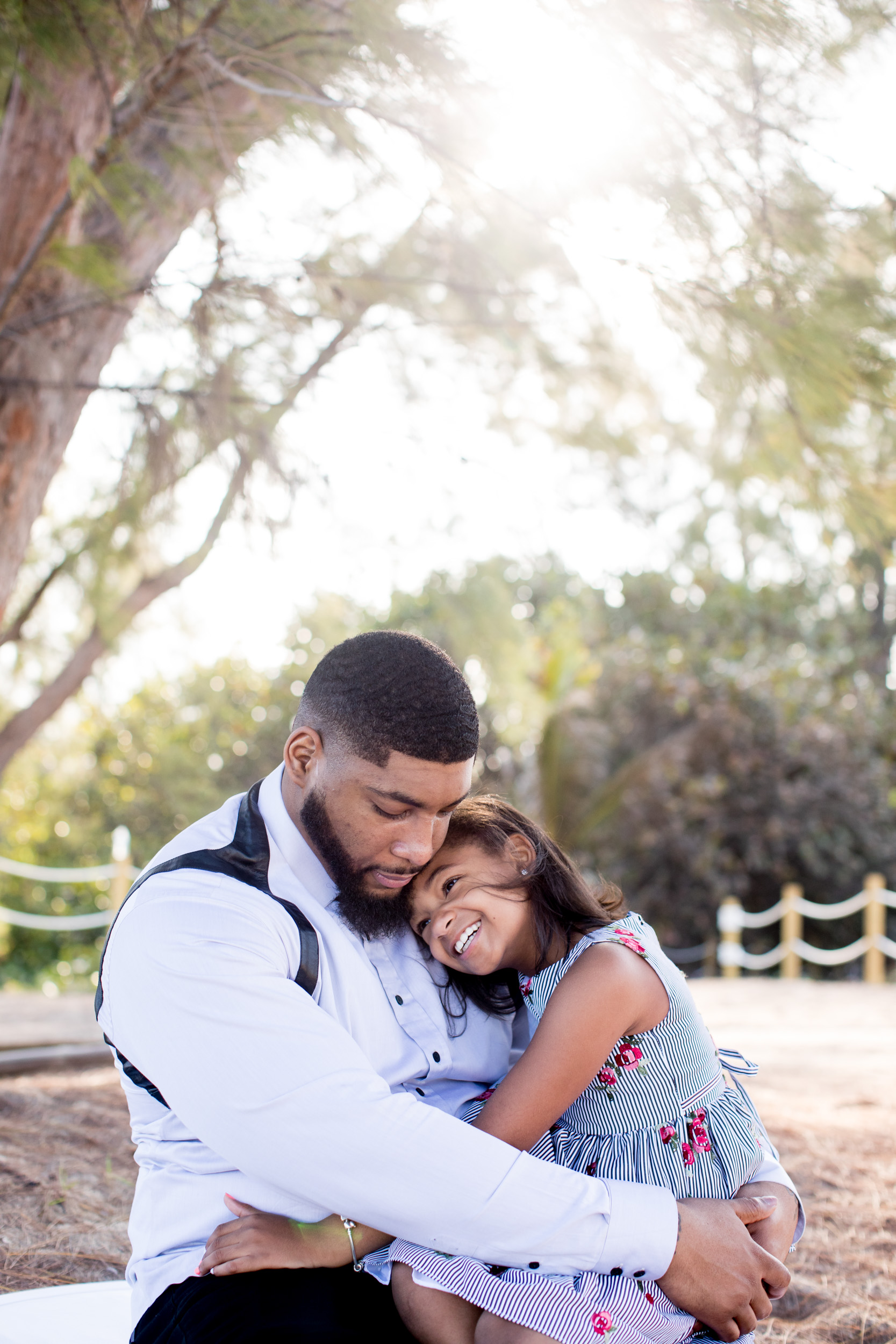 Devon Still and his daughter, Leah