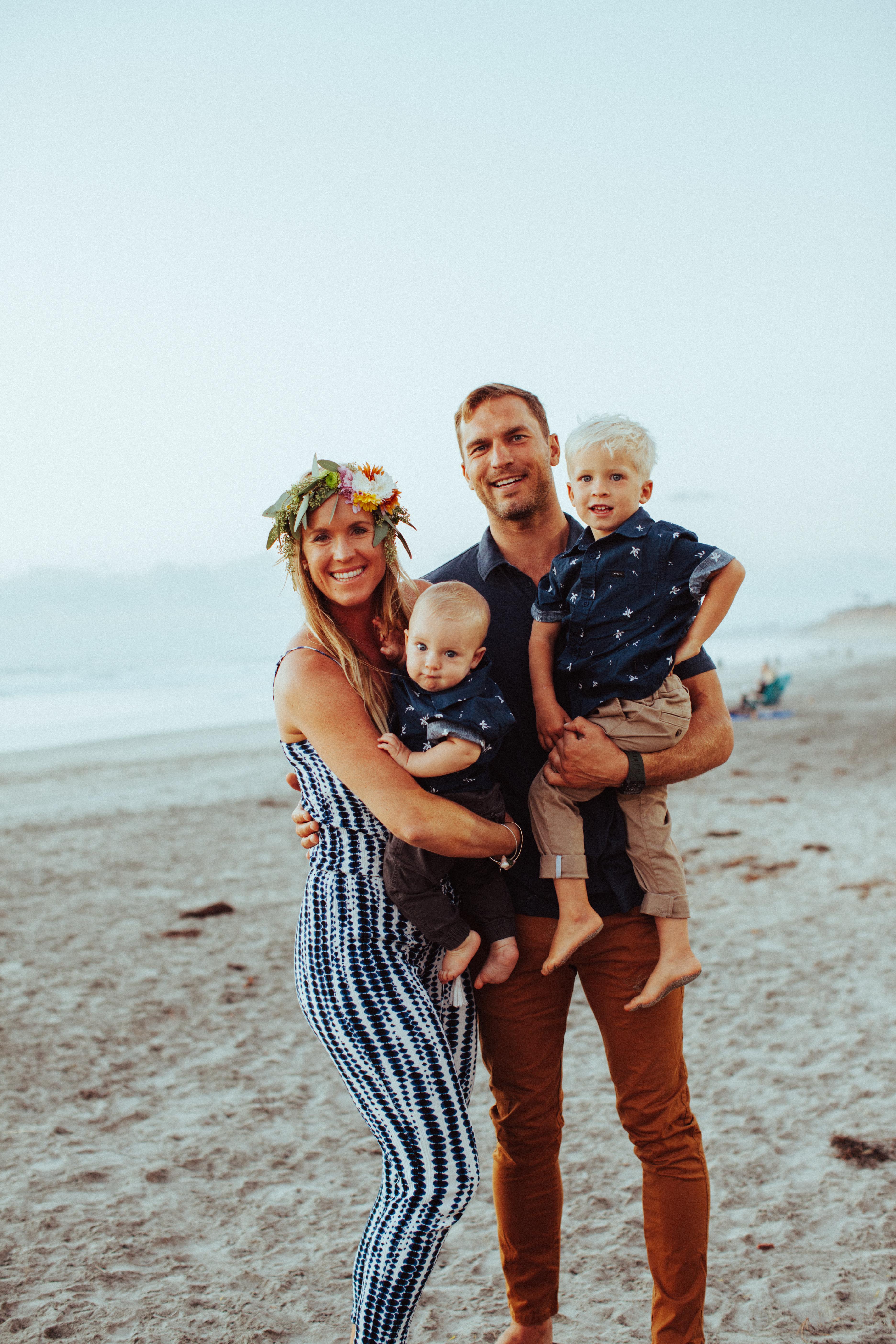 Bethany Hamilton & Adam Dirks and family