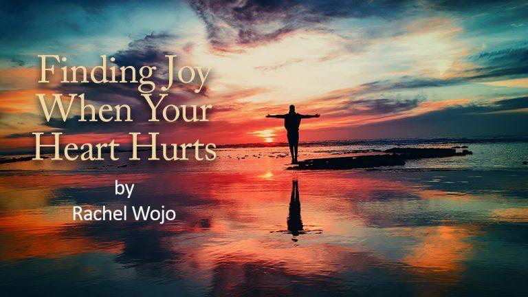 Finding Joy blog by Rachel Wojo