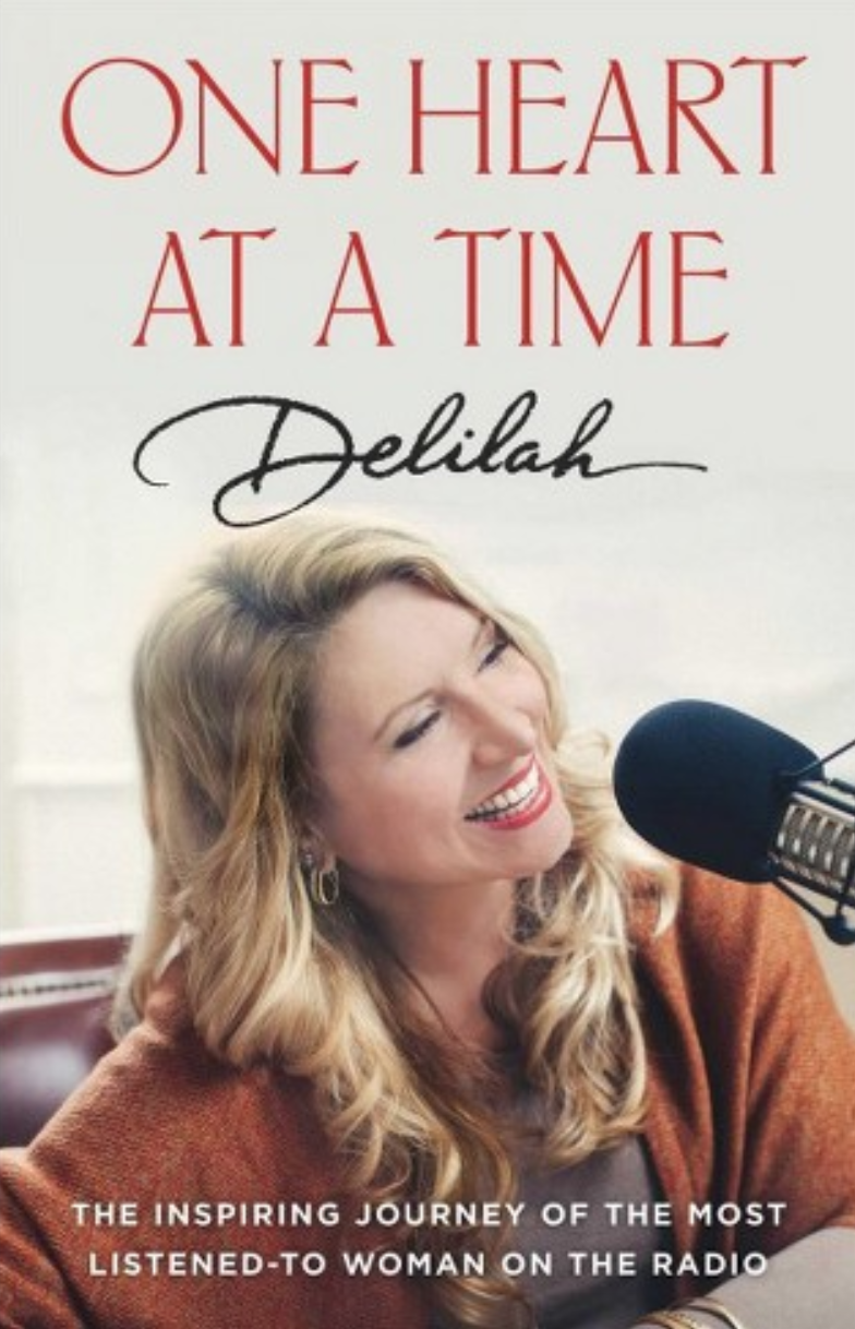 Delilah new book, One Heart at a Time