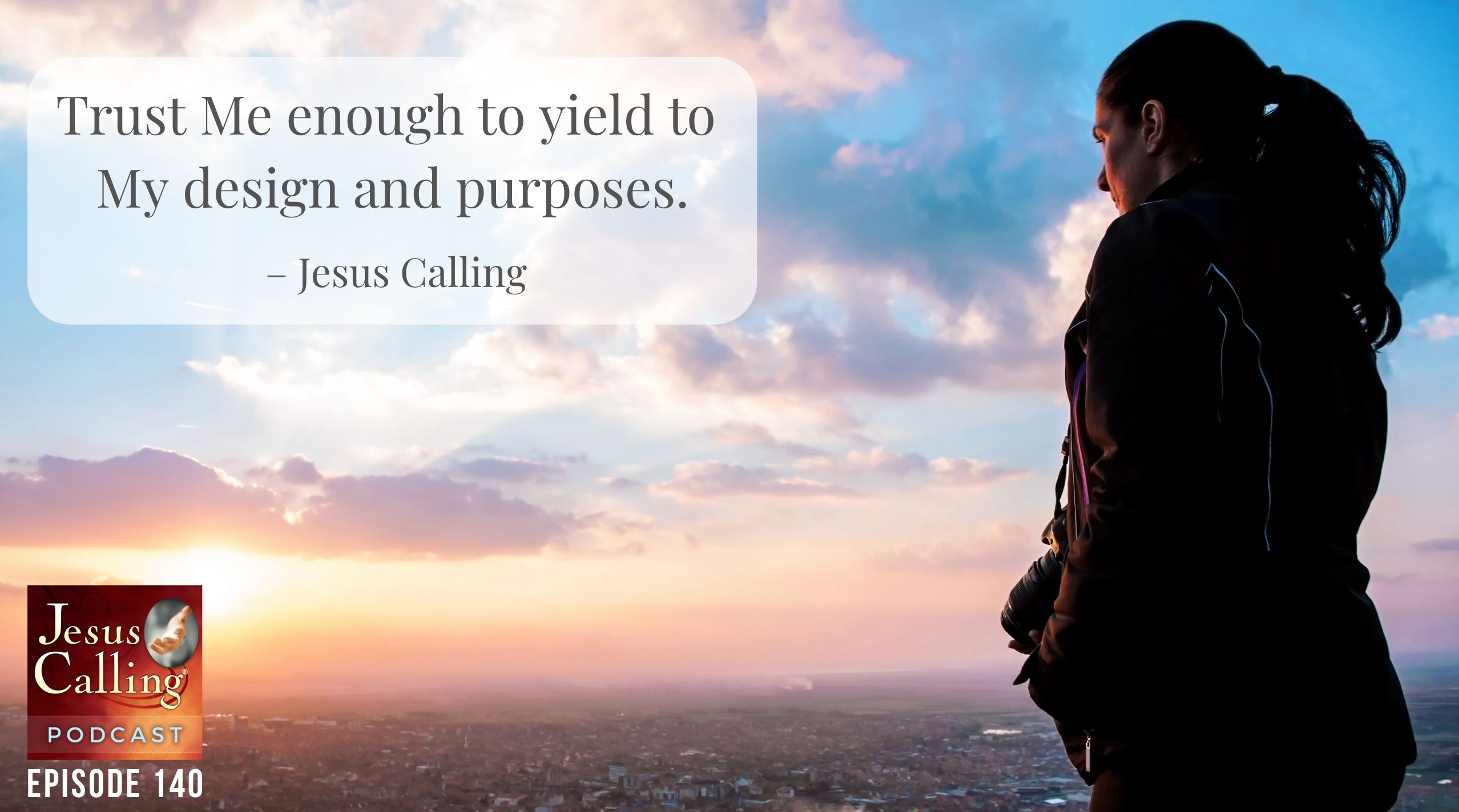 Jesus Calling Podcast #140 featuring Jeremy Cowart & Elisabeth Hasselbeck