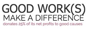 Good Works Make a Difference logo