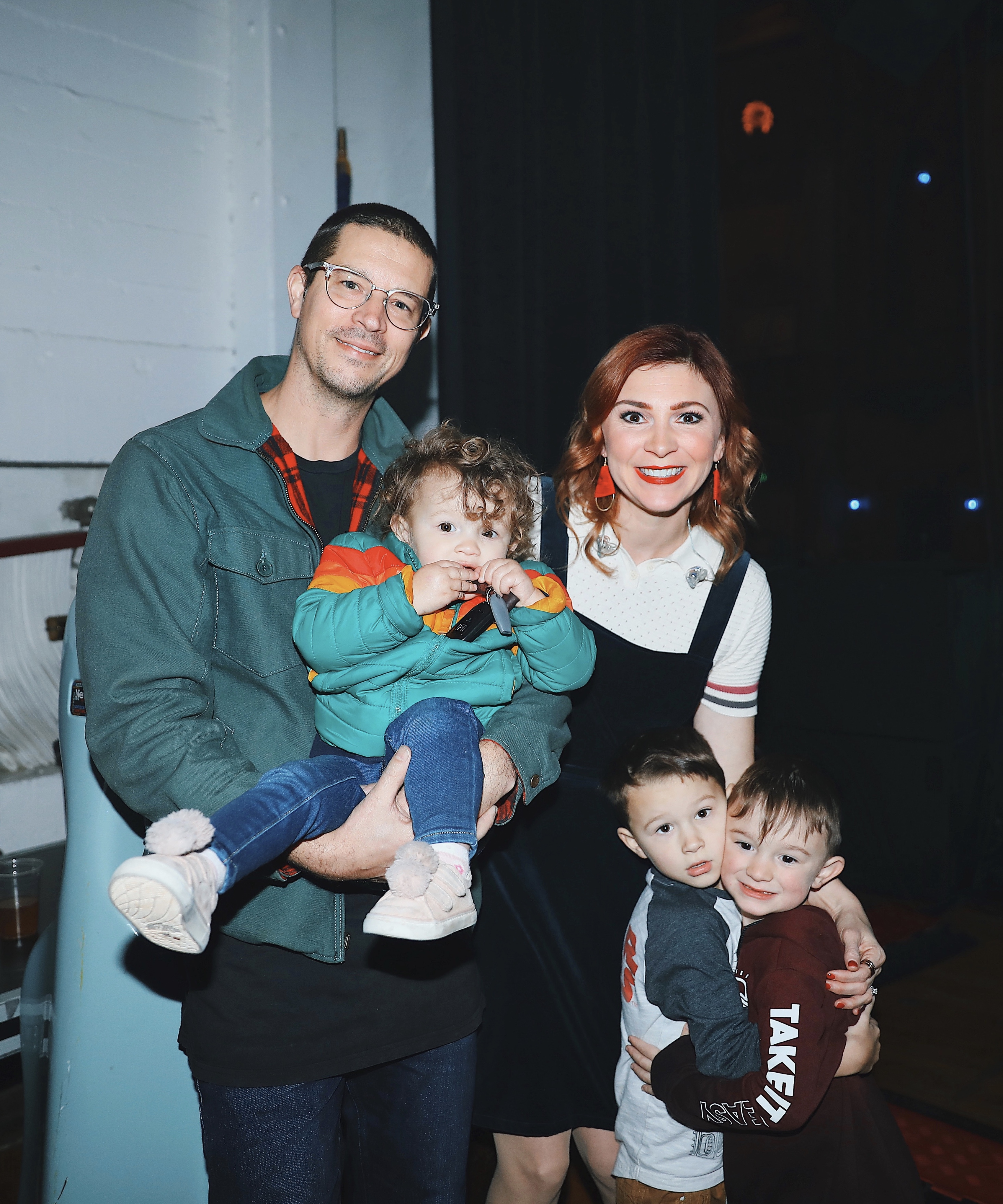 Jesus Culture's Kim Walker-Smith family photo