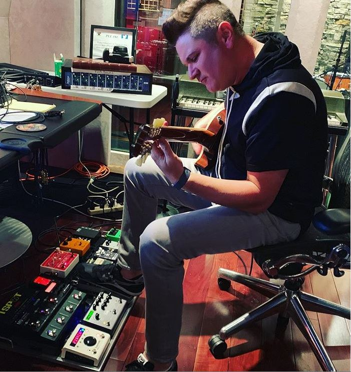 Rascall Flatts' Jay DeMarcus in the studio, talks about his long, unlikely road to fame