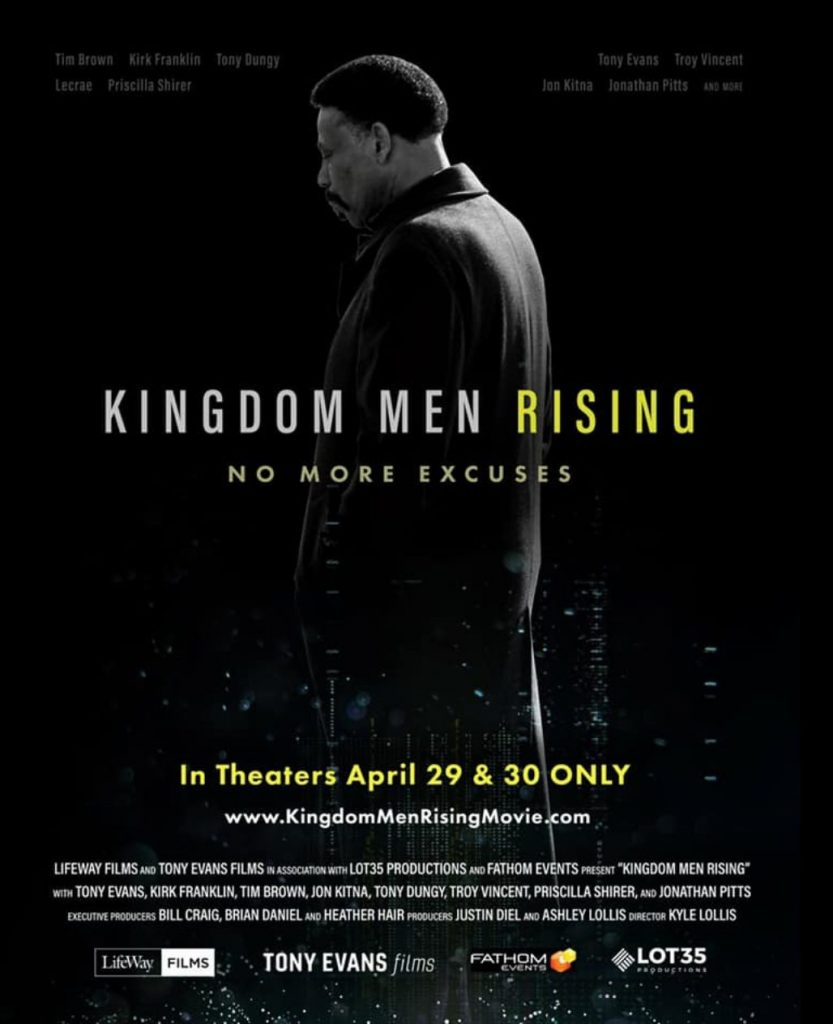 Dr. Tony Evans - fathom event, Kingdom Men Rising
