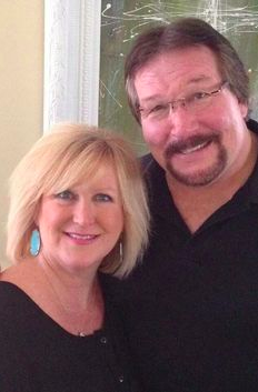 Million Dollar Man Ted DiBiase and his wife