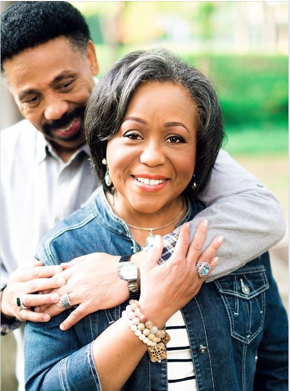 Dr. Tony Evans and his wife