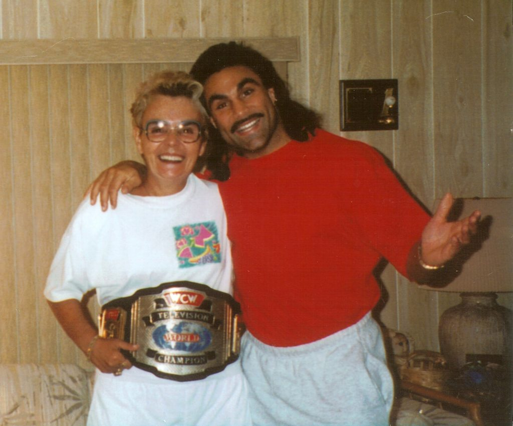 WWE Marc Mero and his mom