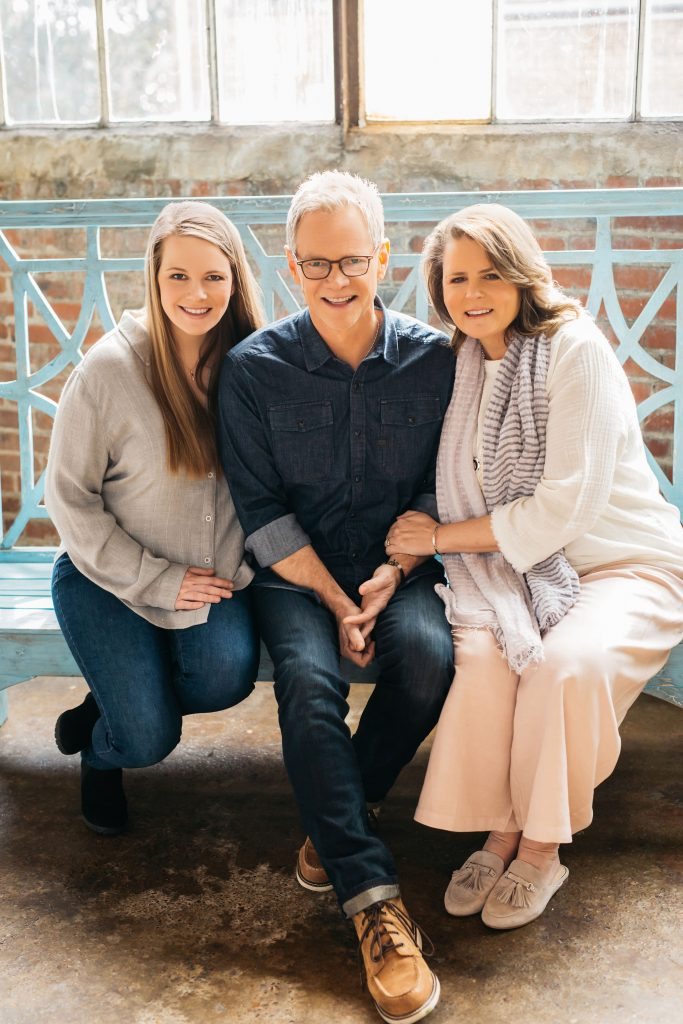 Emily Chapman Richards along with her dad & Christian music artist, Steven Curtis Chapman shared their perspectives of growing up with dads living intentionally on the Jesus Calling podcast