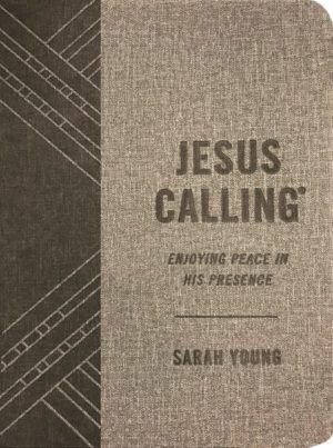 Jesus Calling (Textured Gray Leathersoft)
