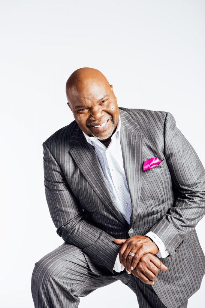 T. D. Jakes recently shared an excerpt from March 19th of the Jesus Calling devotional