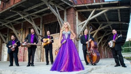Bluegrass artist, Rhonda Vincent and the Rage as highlighted on the Jesus Calling podcast