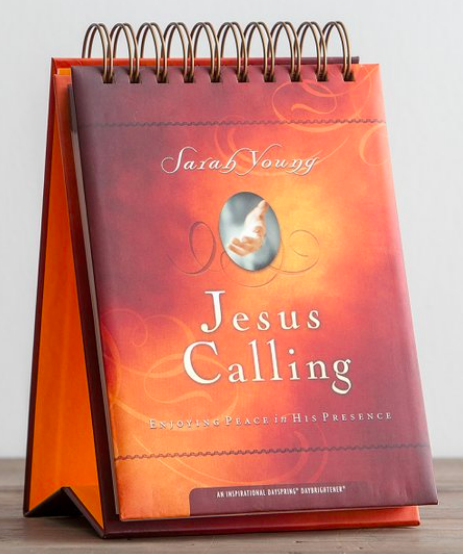 Jesus Calling calendar is now available on Zulily