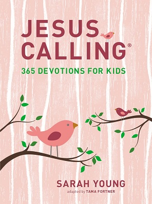 Jesus Calling 365 Devotions for Kids (Pink)