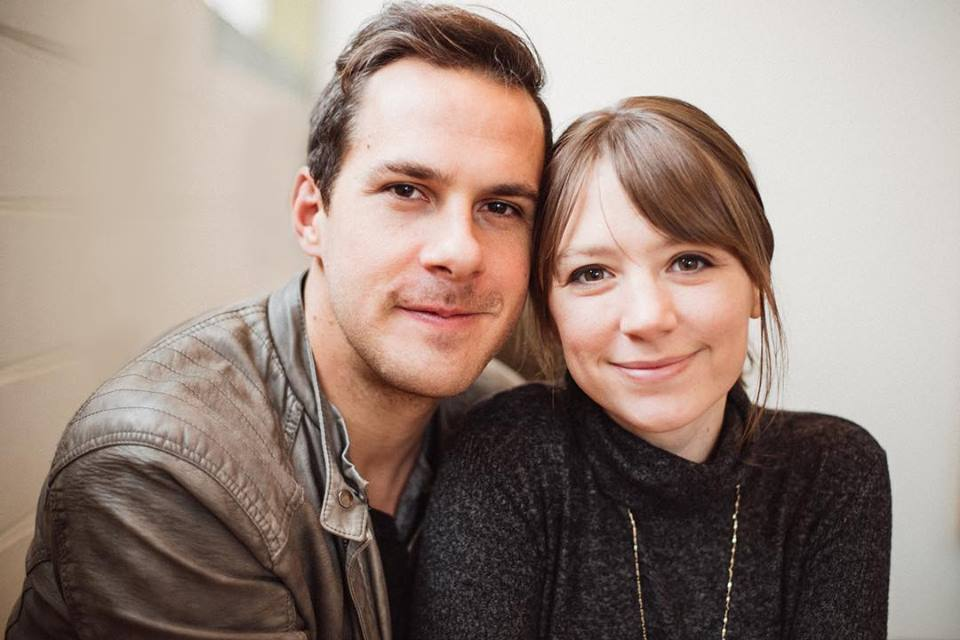 Christian folk songwriters & artists, Jenny & Tyler - as featured on the Jesus Calling podcast