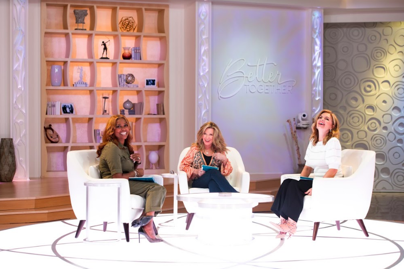 "Victoria Osteen, Laurie Crouch & Dr. DeeDee Freeman of TBN's ""Better Together"" as featured on the Jesus Calling podcast"