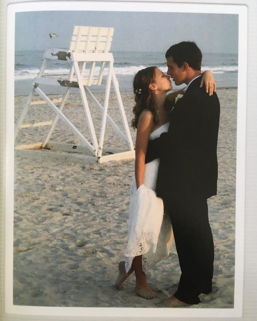 Christian music artists, Jenny & Tyler wedding as highlighted on the Jesus Calling podcast