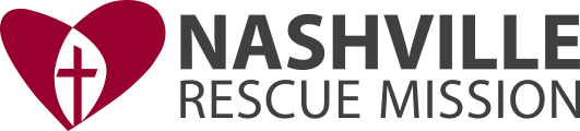 Nashville Rescue Mission (Nashville TN) logo as featured on the Jesus Calling pocast