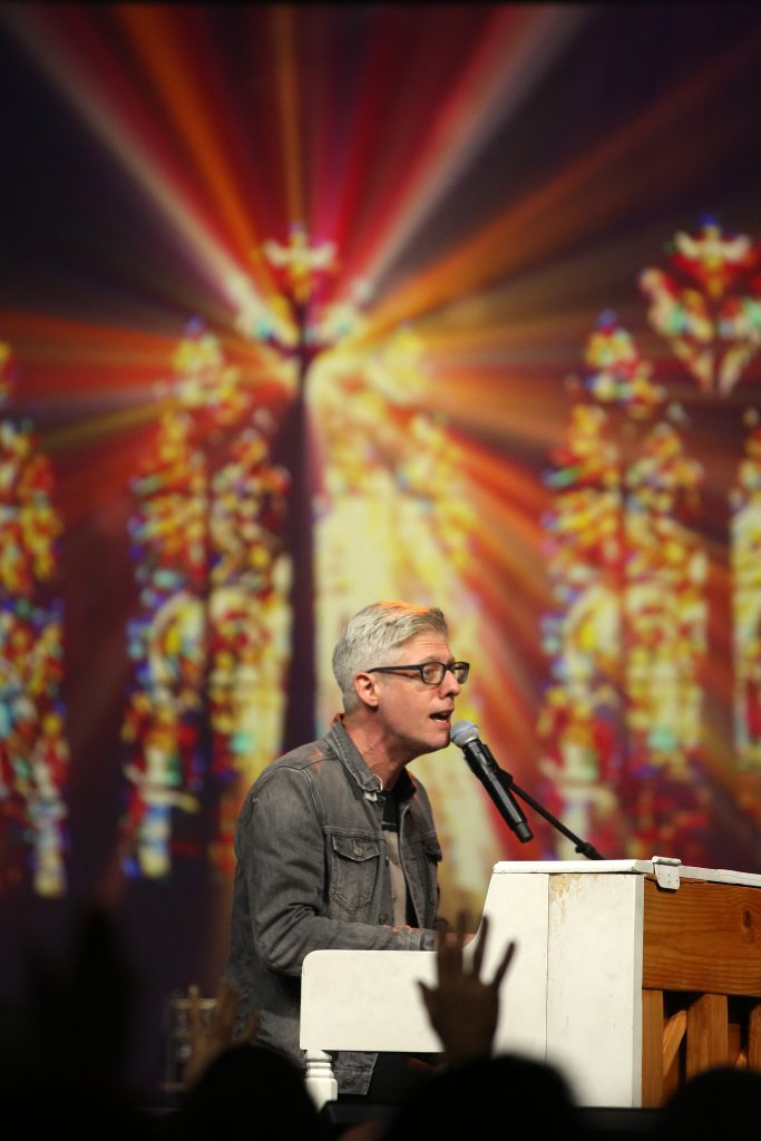 Jesus Calling podcast guest, singer/songwriter Matt Maher