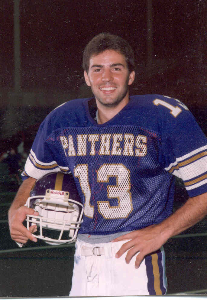 NFL Hall of Fame quarterback Kurt Warner's Panthers photo (as featured on Jesus Calling podcast)