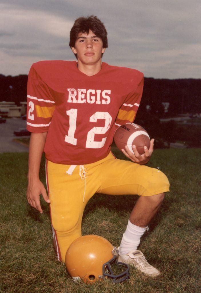 NFL Hall of Fame quarterback Kurt Warner's Regis photo (as featured on Jesus Calling podcast)