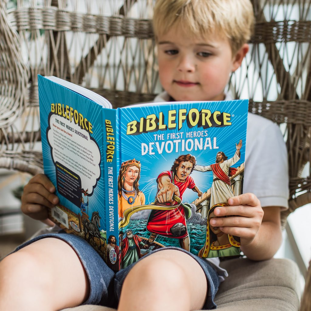 BibleForce - The First Heroes Devotional was recently featured on the Jesus Calling podcast as founder Wayne McKay discussed how the kids resources was created