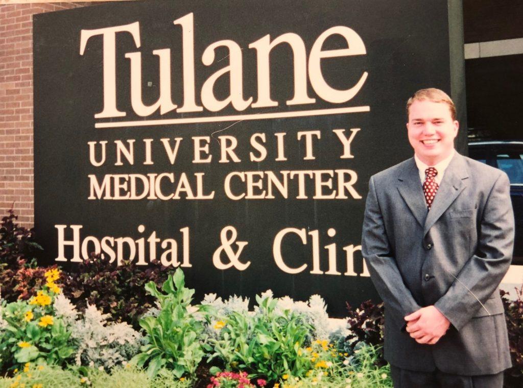 Beginning of Med School for Brandon Lane Phillips, guest on Jesus Calling podcast #171