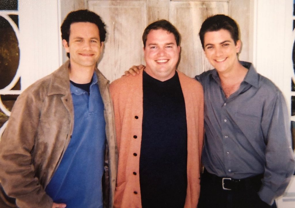 Brandon Lane Phillips with Growing Pains cast members (Kirk Cameron & Jeremy Miller) - Jesus Calling podcast #171