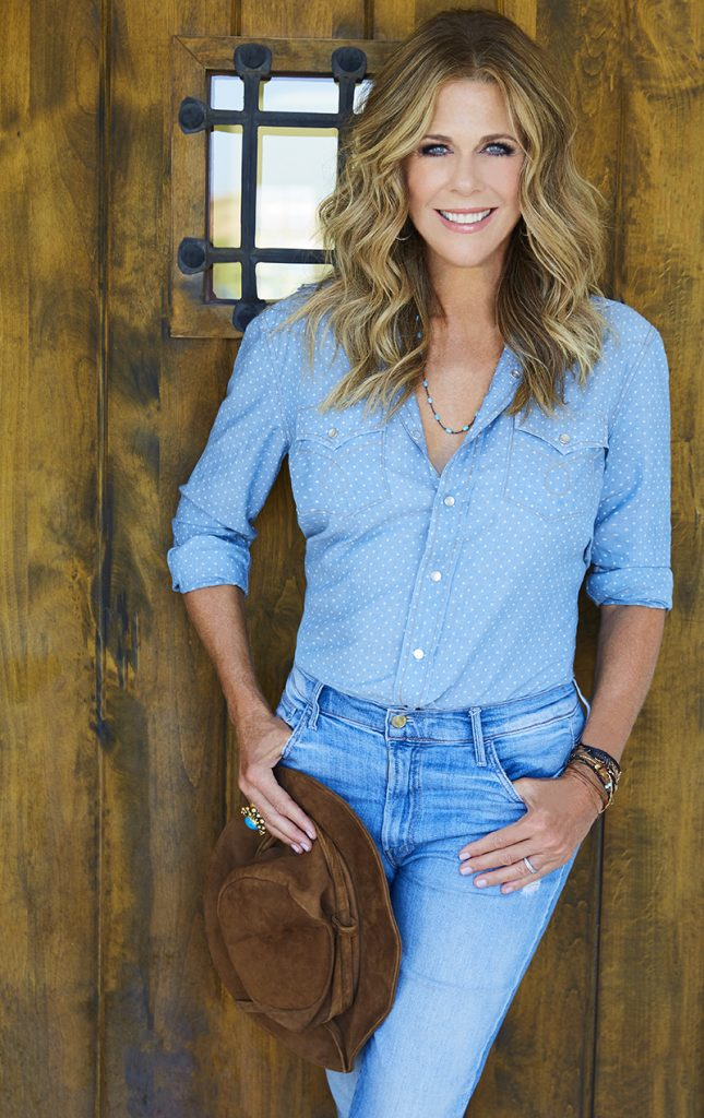 Singer/Songwriter Rita Wilson (wife of Tom Hanks) as featured on Jesus Calling podcast