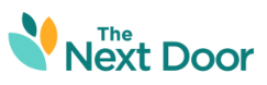 The Next Door logo, as featured on the Jesus Calling podcast