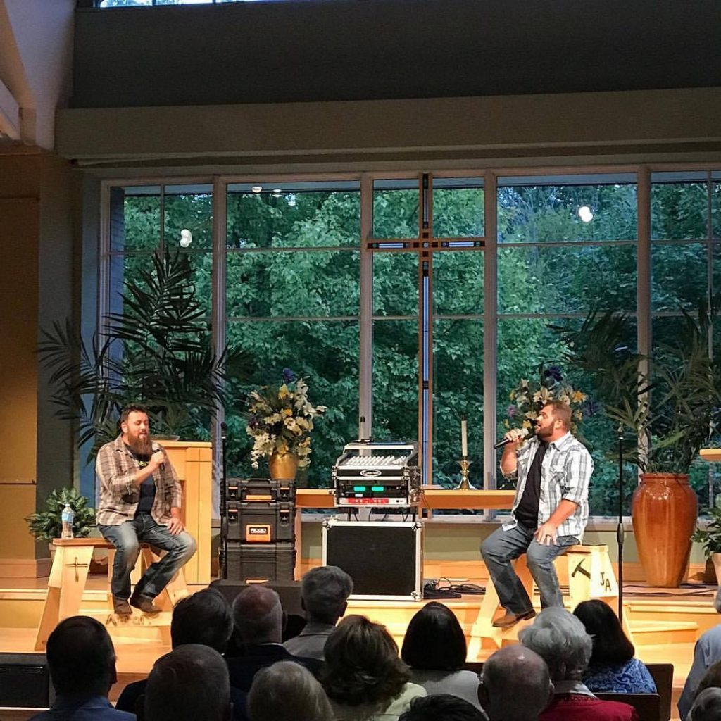 The Singing Contractors (Josh Arnett & Aaron Gray) performance as highlighted on Jesus Calling Podcast episode #171