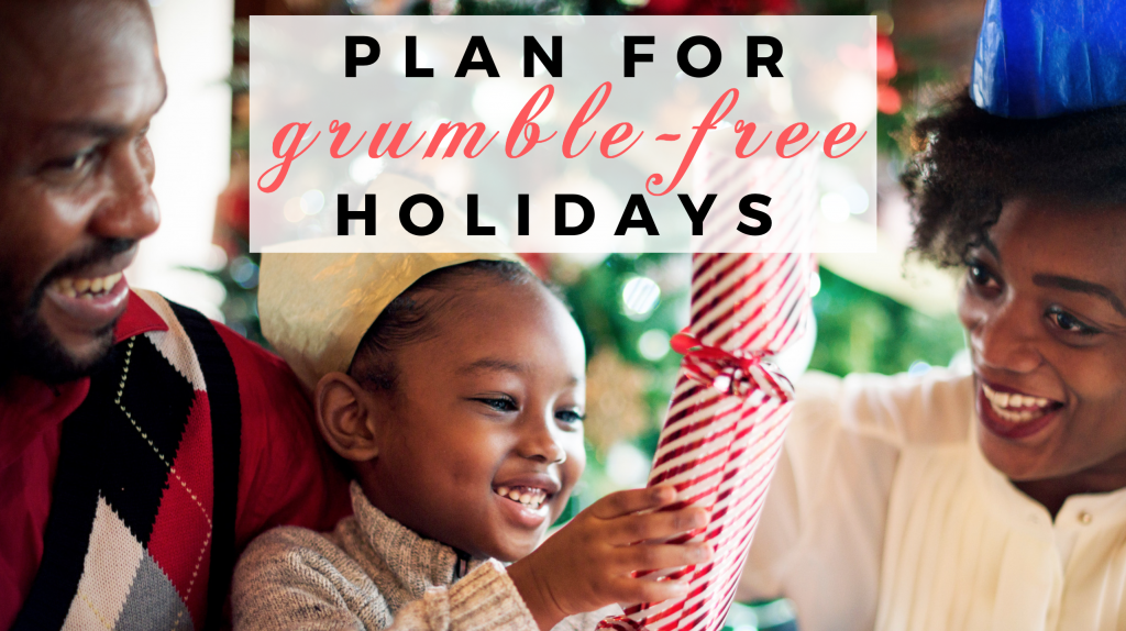 Tricia Goyer blog image for Plan Now for Grumble-Free Holidays