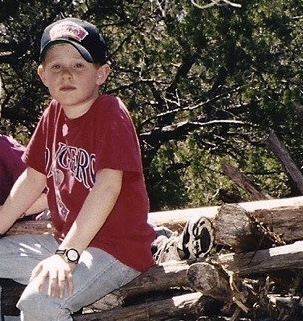A young Nathan Clarkson, son of author Sally Clarkson (guests on Jesus Calling podcast #173)