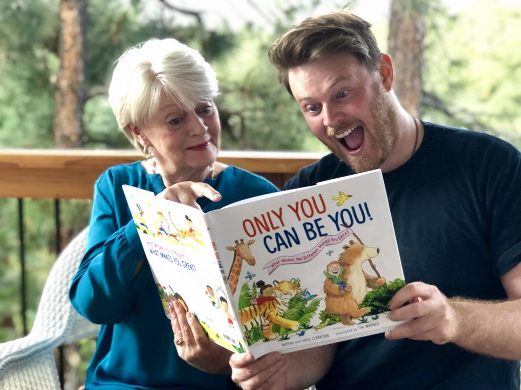 Sally Clarkson and her son, Nathan Clarkson as featured on the Jesus Calling podcast #173 to promote their new book, Only You Can Be You!