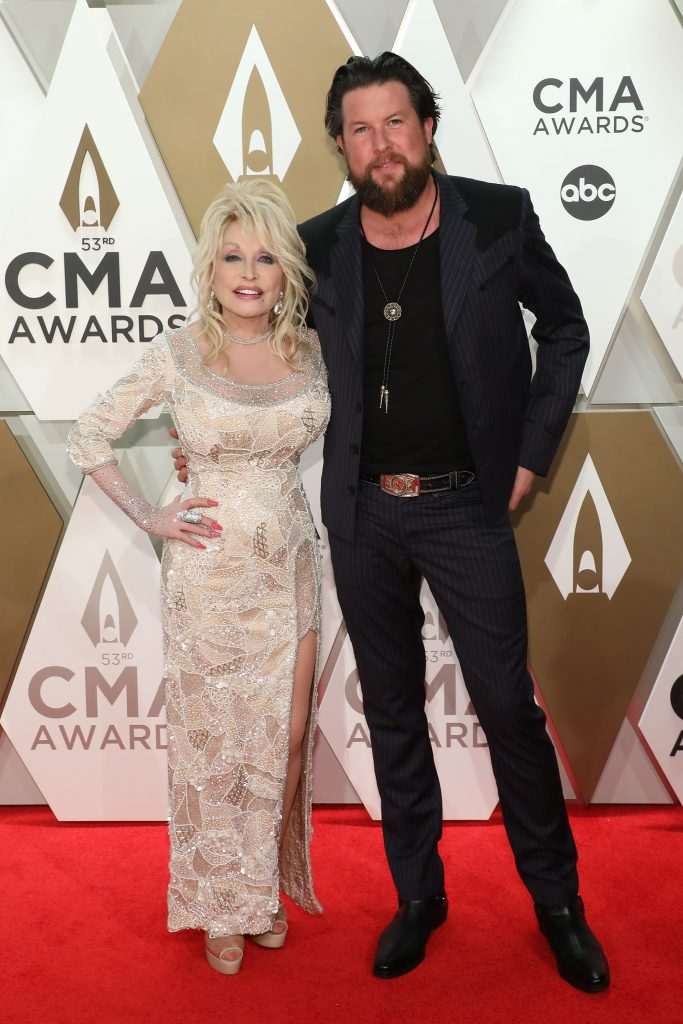Dolly Parton with Zach Williams, our recent guest on the Jesus Calling podcast #176