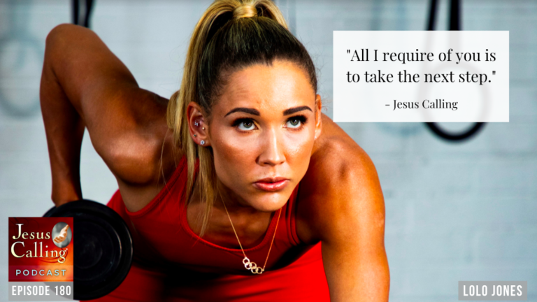 Lolo Jones guest on episode 180 of the Jesus Calling podcast
