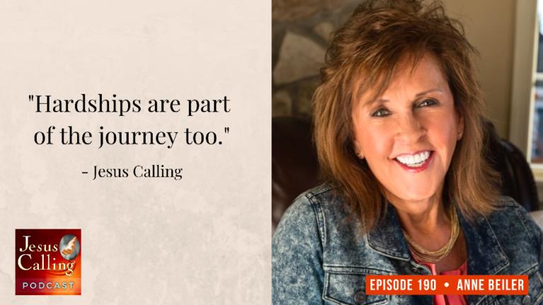 Jesus Calling podcast #190 featuring Anne Beiler (Auntie Anne's Pretzels)