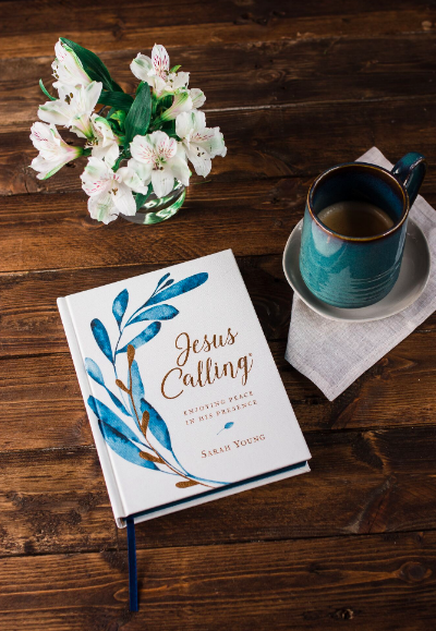 Jesus Calling podcast #194 featuring the new Jesus Calling 'Botanical' devotional book